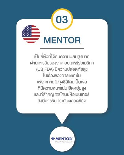 silicone mentor